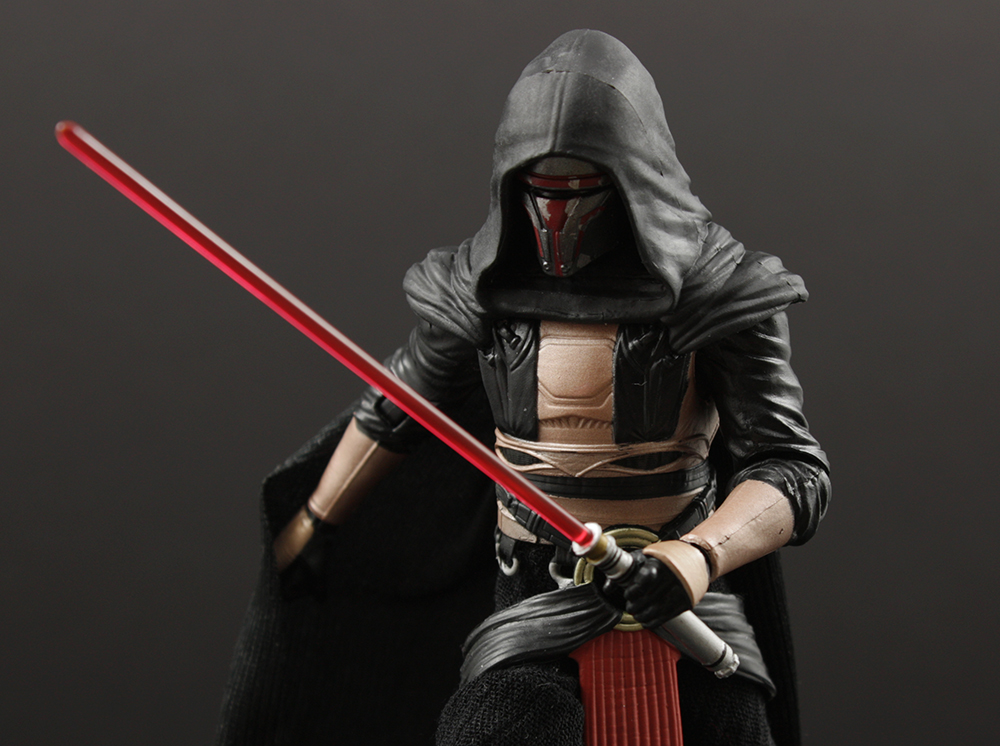 Hasbro Star Wars Black Six-Inch #34 Darth Revan Review