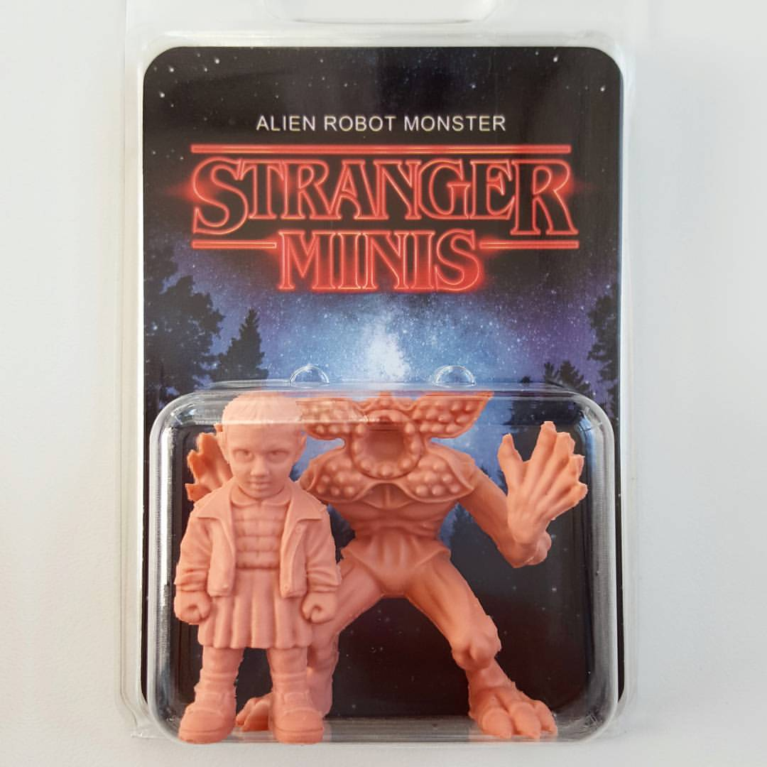 Stranger Things M.U.S.C.L.E. Mini Figures, What?
