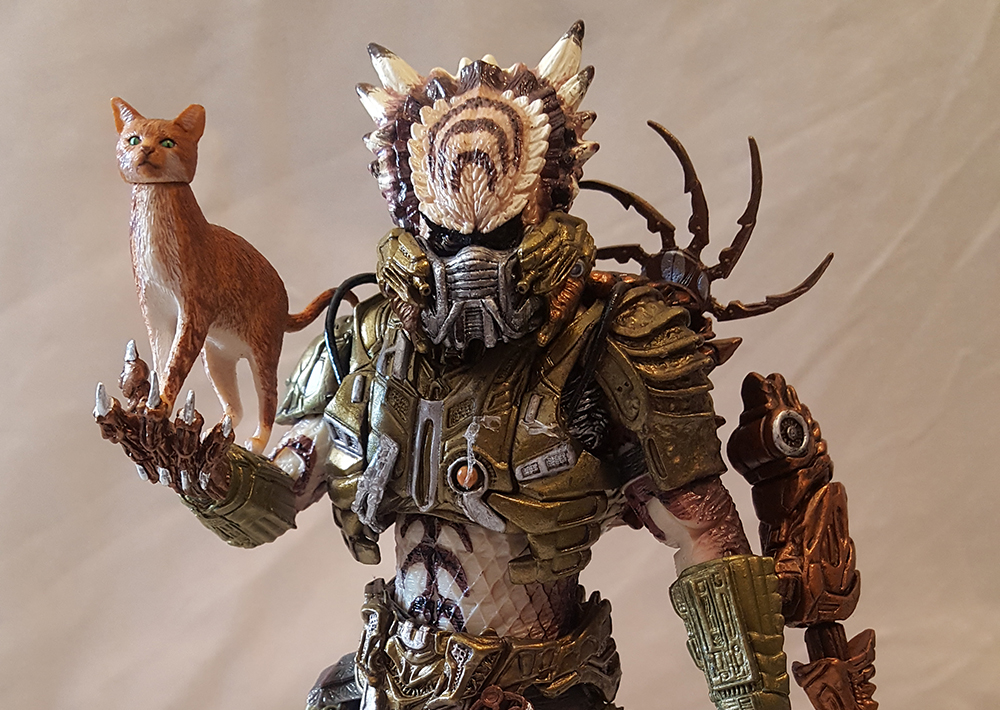 Review Advent Calendar Day 19: NECA Predator Series 16 Spiked Tail