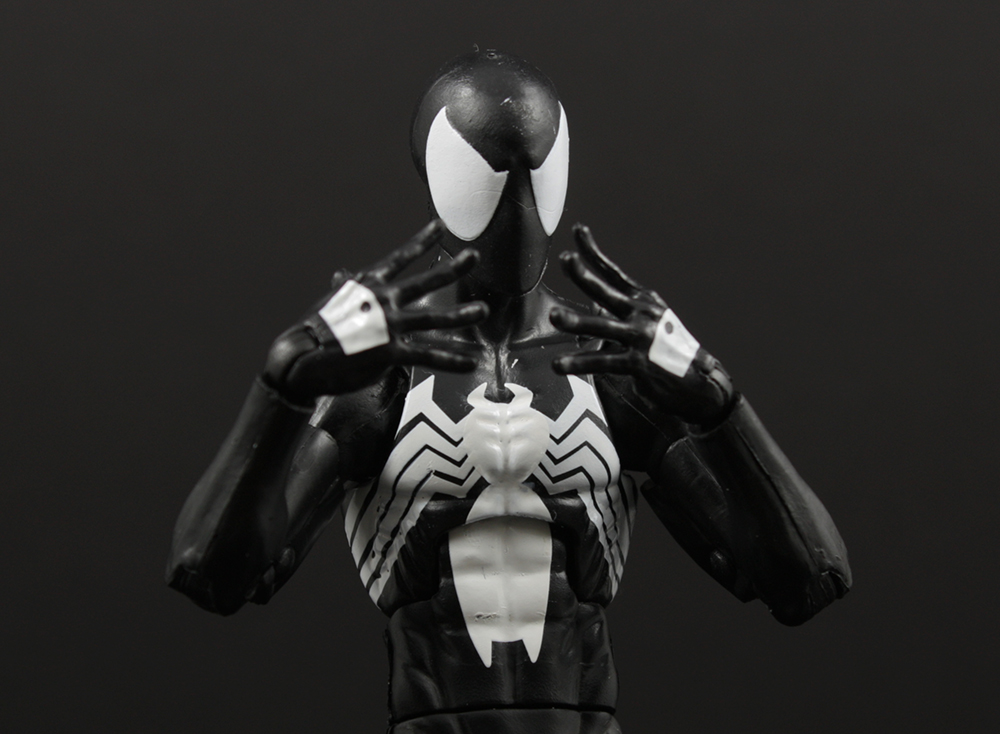 Review Advent Calendar Day 3: Marvel Legends Sandman Series Symbiote Spider-Man