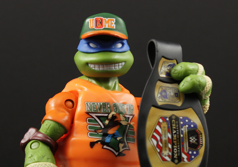 Review Advent Calendar Day 4: Playmates TMNT WWE Ninja Superstars