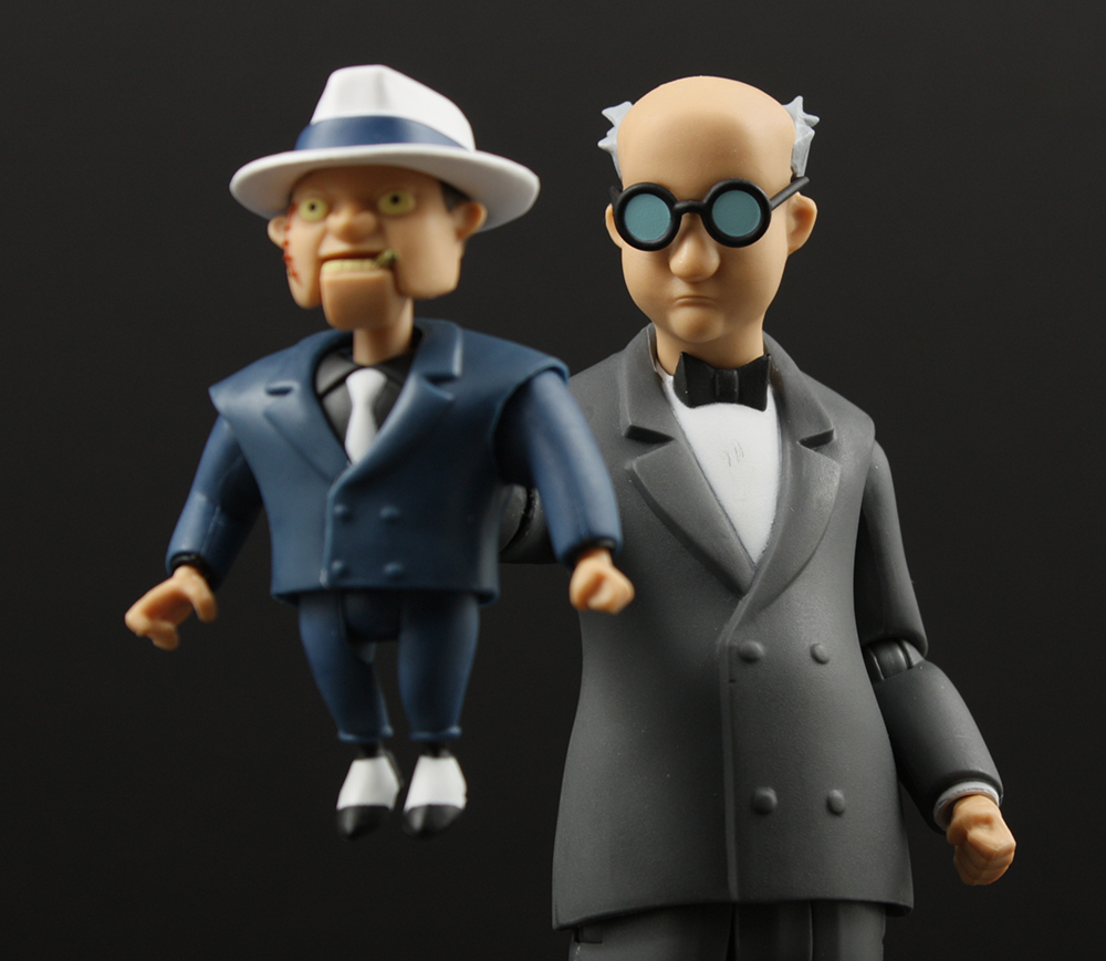 Review Advent Calendar Day 5: DCC Batman TAS Ventriloquist and Scarface