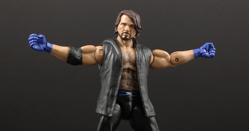 Review Advent Calendar Day 8: Mattel WWE Elite 47 AJ Styles