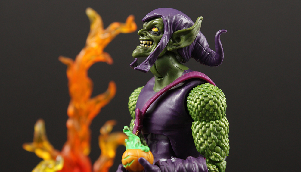 Review Advent Calendar Day 12: Marvel Legends Sandman Series Green Goblin