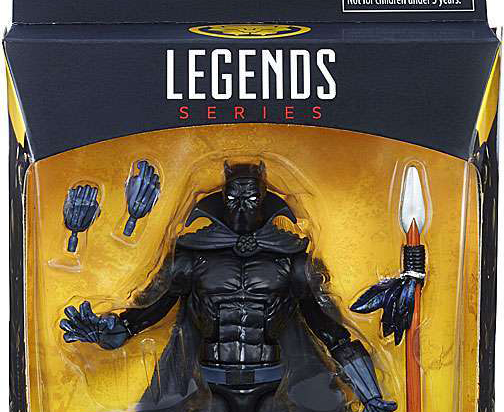 Hasbro: Marvel Legends Comic-Based Black Panther Images Appear!