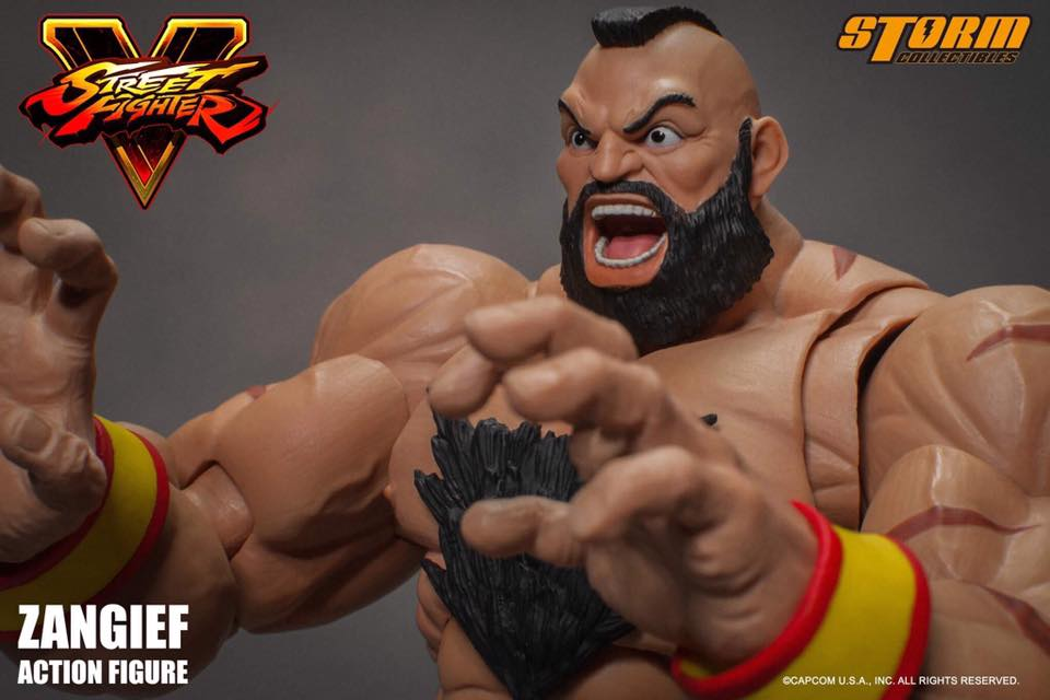 Storm Collectibles: Zangief from Street Fighter V Revealed!
