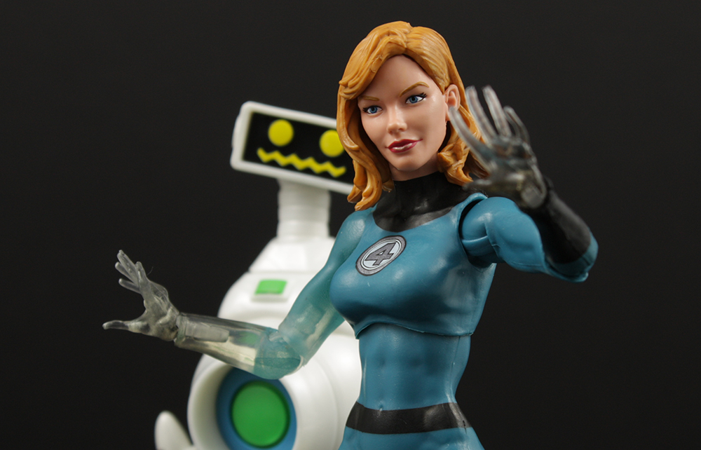 Hasbro Marvel Legends Walgreens Fantastic Four Invisible Woman Review