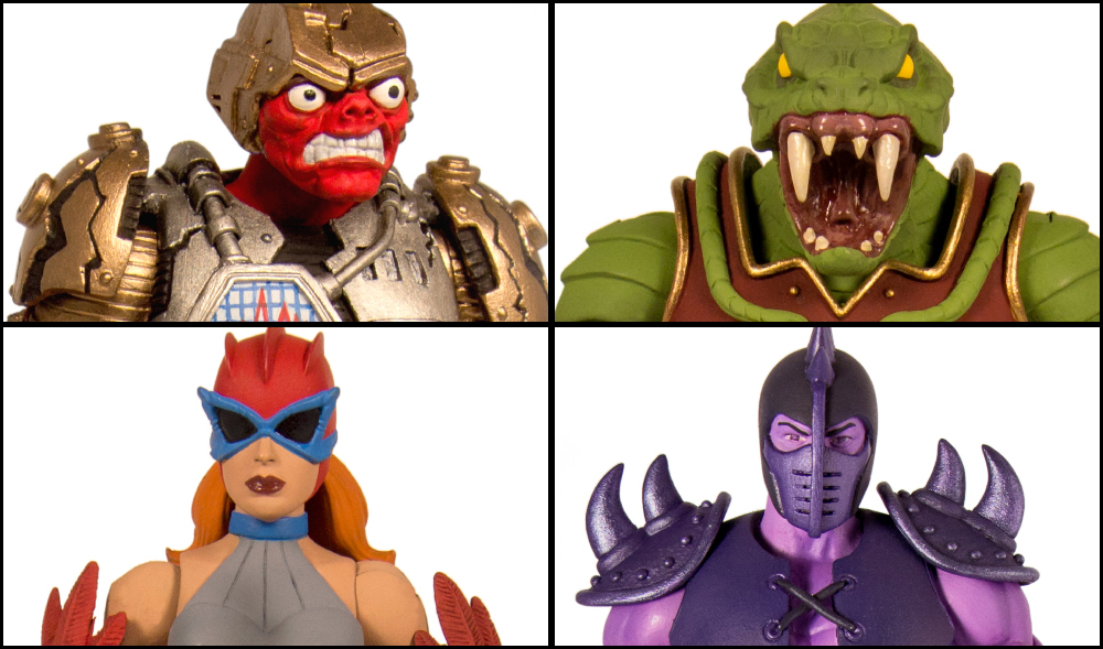 Super7: MOTUC Fangor, Quakke, Hawke, and Lodar Revealed!