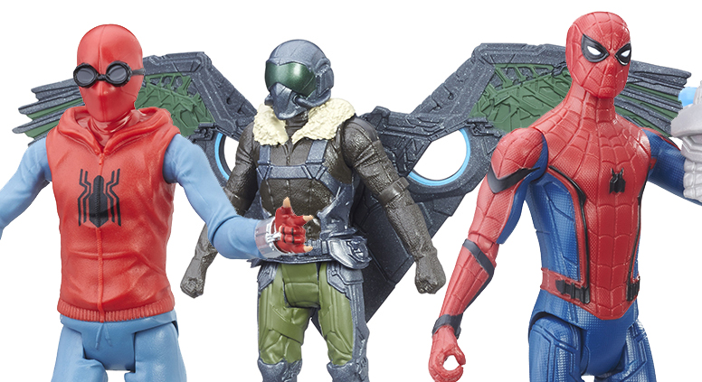Hasbro: New Upcoming Spider-Man Homecoming Toys Revealed!