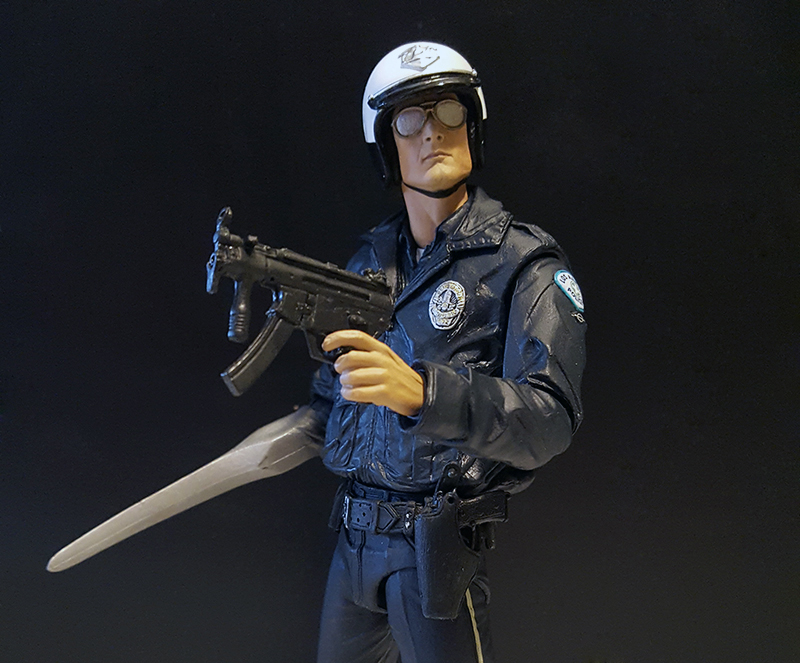 NECA Terminator 2 Ultimate T-1000 (Motorcycle Cop) Review