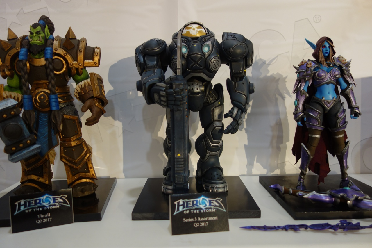 Toy Fair 2017: NECA Heroes of the Storm and Team Fortress 2