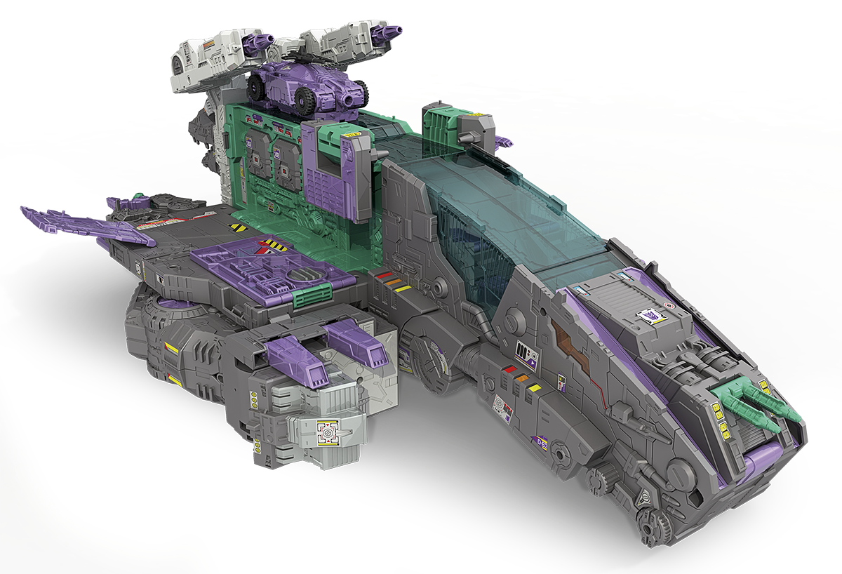 Hasbro: Transformers Titan Class Trypticon Revealed!