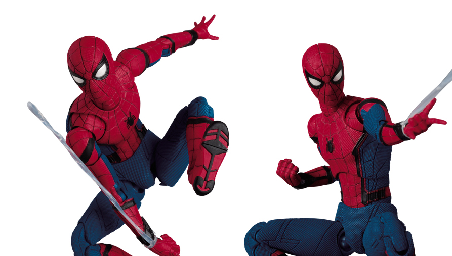 MAFEX: Spider-Man/Peter Parker From Homecoming Revealed!