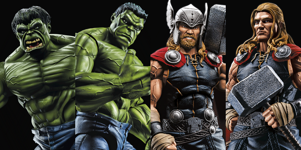 Hasbro: Marvel Legends Series 12-inch figures revealed!