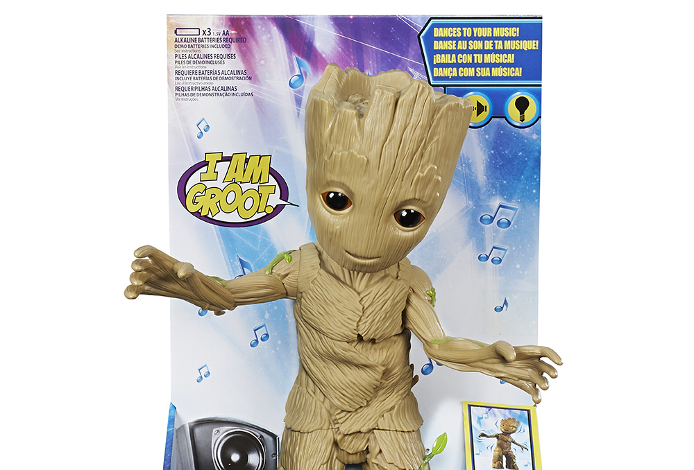 Hasbro: Guardians of the Galaxy Vol. 2 Dancing Baby Groot Revealed!