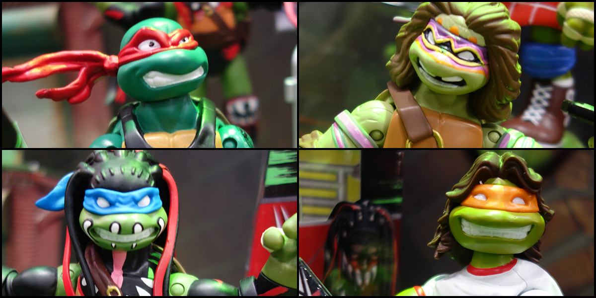 Toy Fair 2017: Playmates TMNT WWE Ninja Superstars Series 2