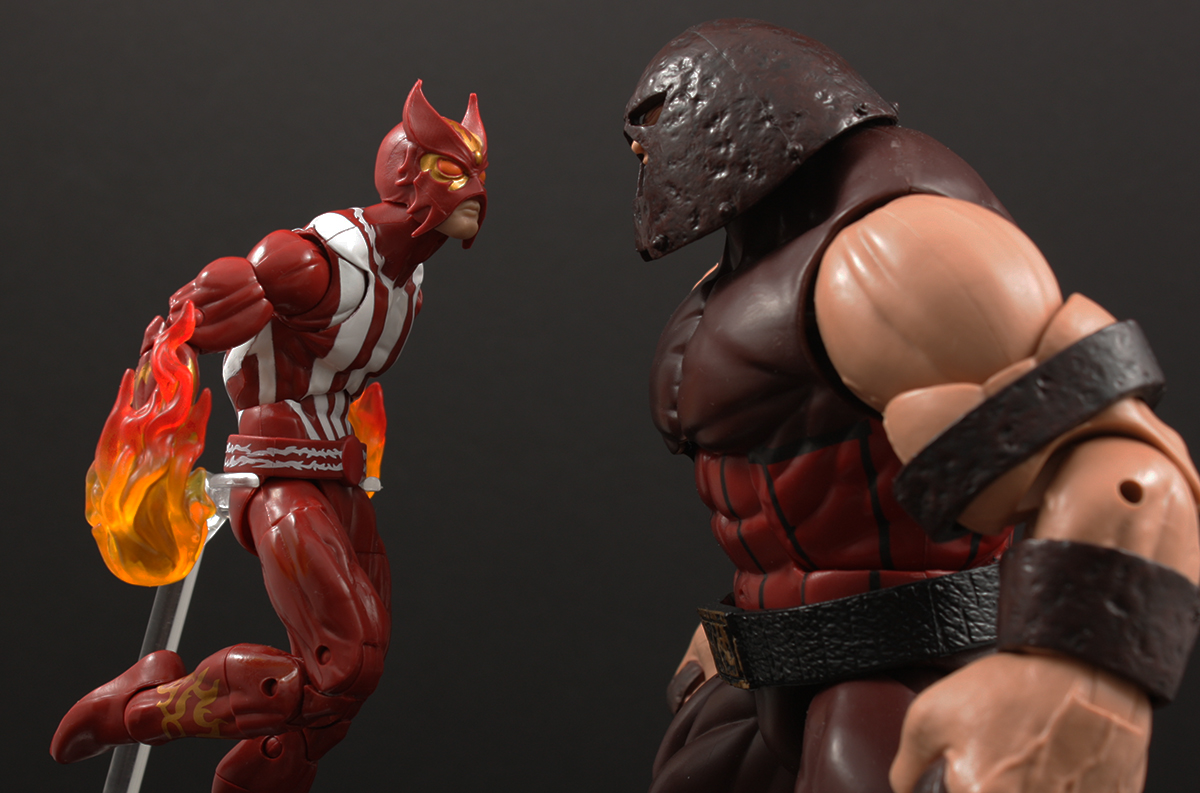 Marvel Legends X-Men Warlock Series Sunfire Review