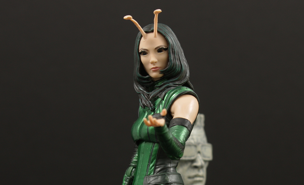 Hasbro Marvel Legends GOTG Mantis Build-A-Figure Review