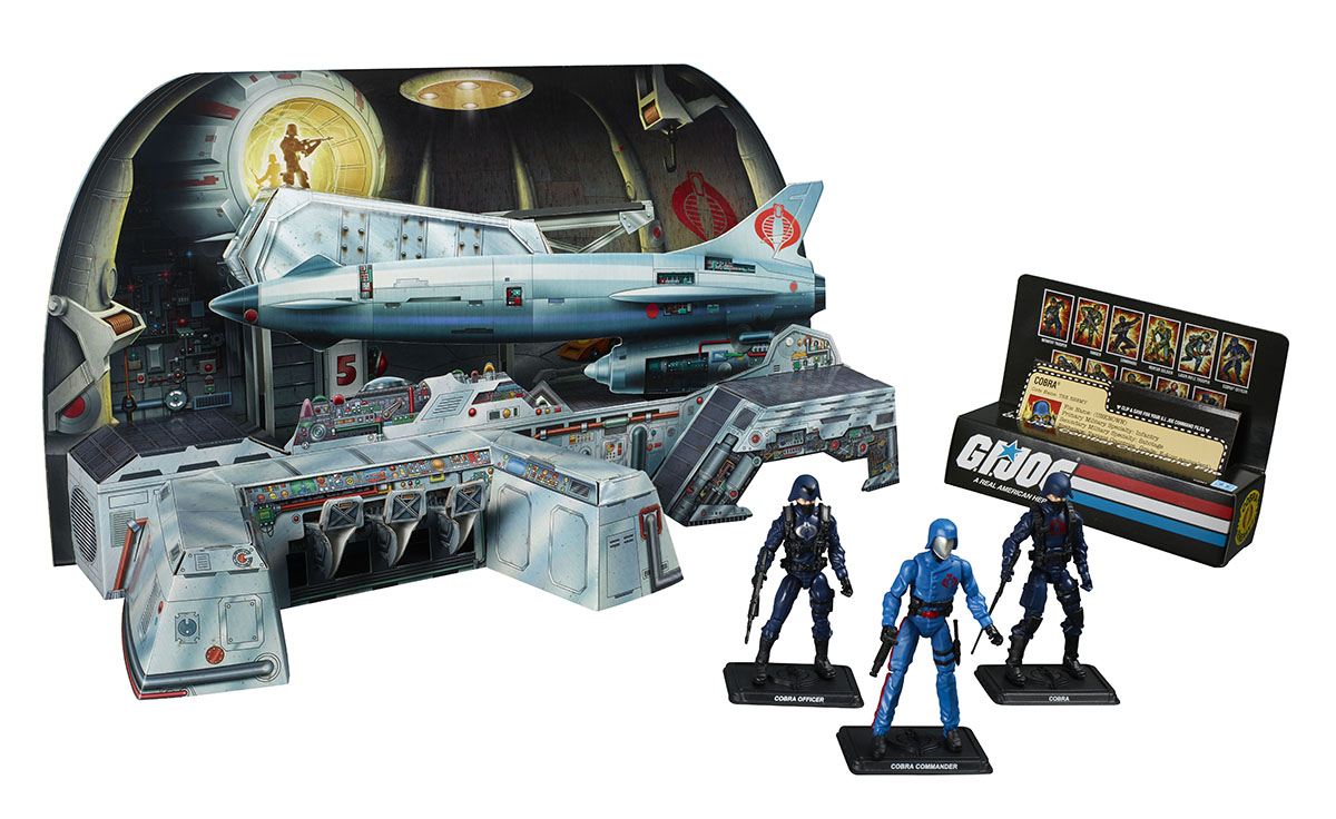 SDCC 2017: Hasbro Reveals G.I. Joe Cobra Missile Command HQ Exclusive!