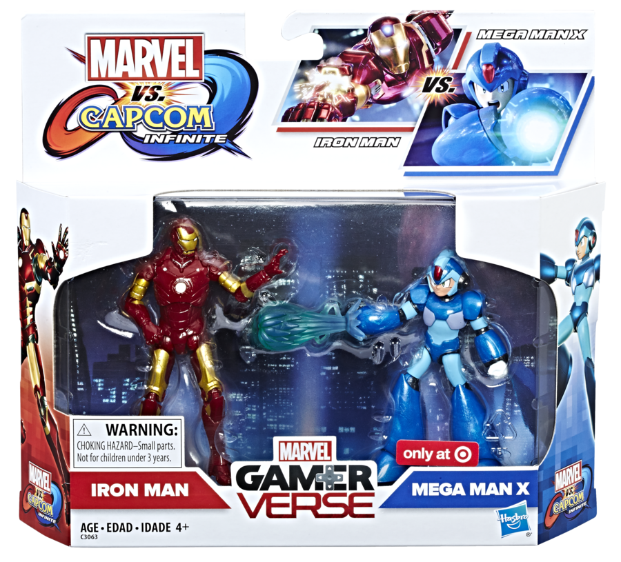 Hasbro: Marvel vs. Capcom: Infinite 3.75 Inch Figure 2-Pack Revealed!