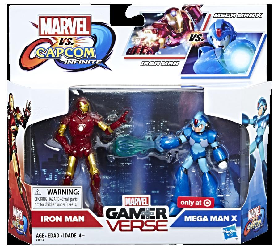Hasbro: Marvel vs. Capcom: Infinite 3.75 Inch Figure 2-Pack Revealed!