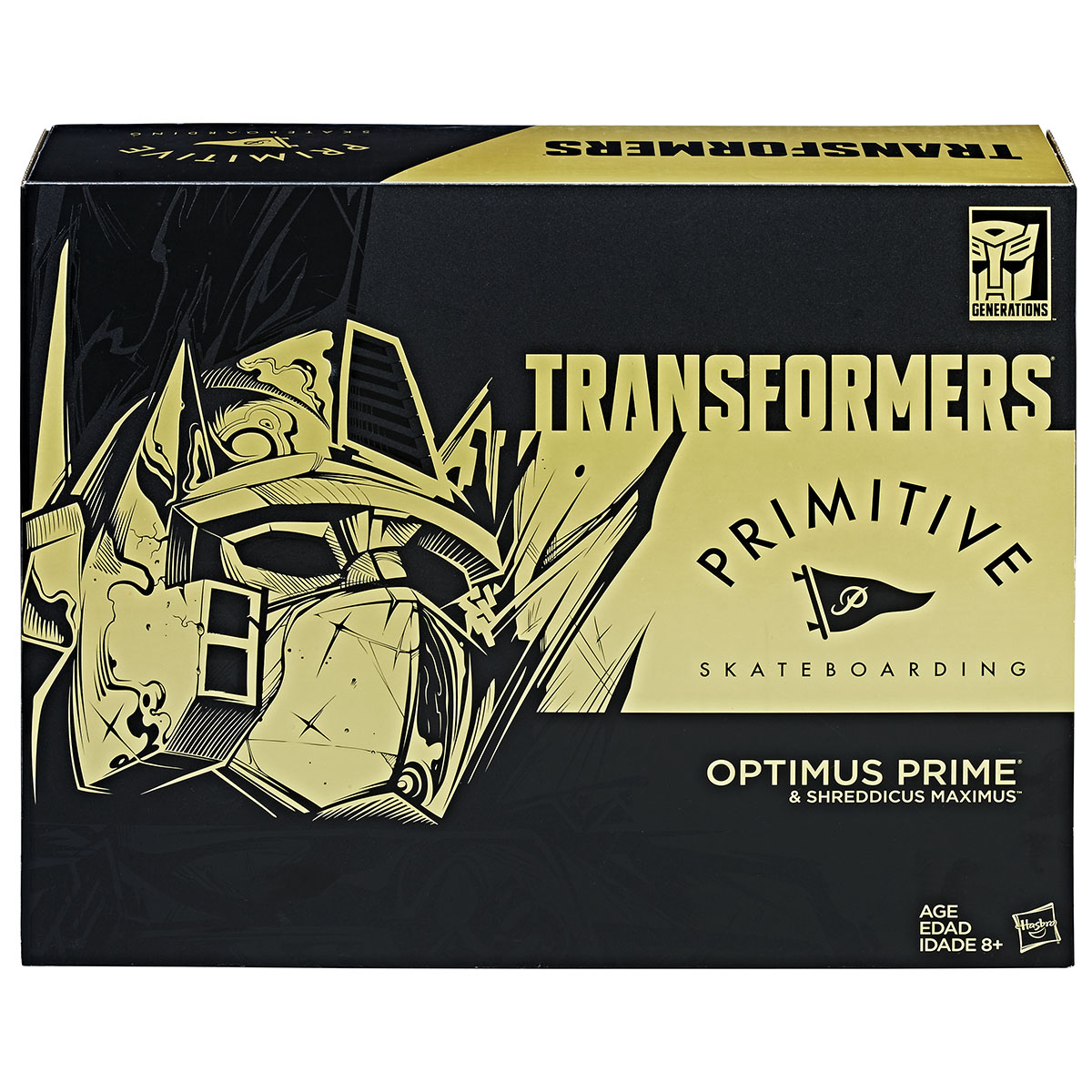 Hasbro: Transformers x Primitive Skateboarding SDCC 2017 Convention Exclusive!