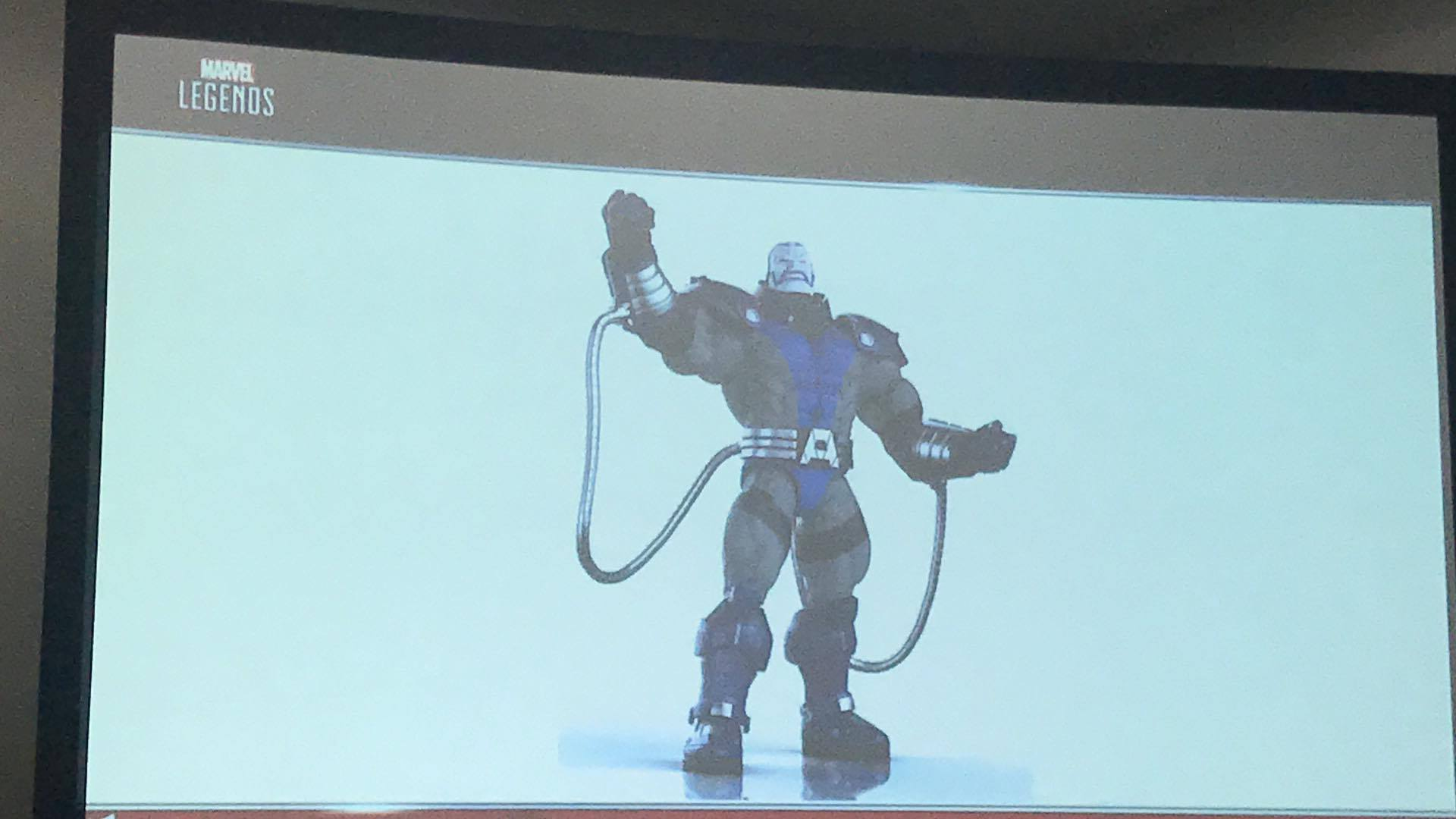 SDCC 2017: Hasbro Marvel Legends Panel Slides