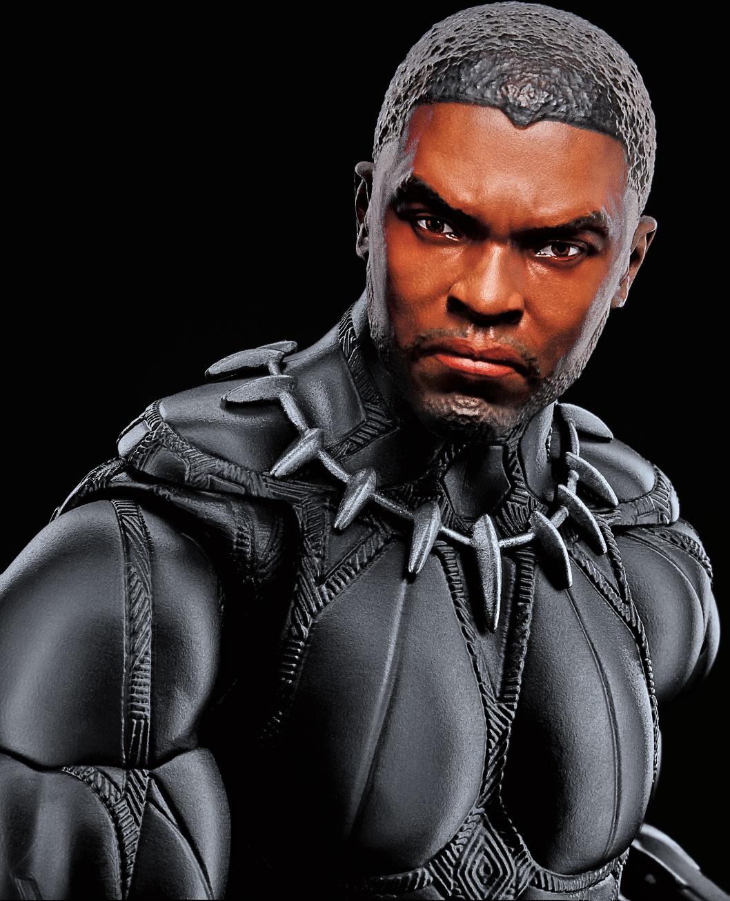 Hasbro: Marvel Legends 12-inch Black Panther revealed at D23!