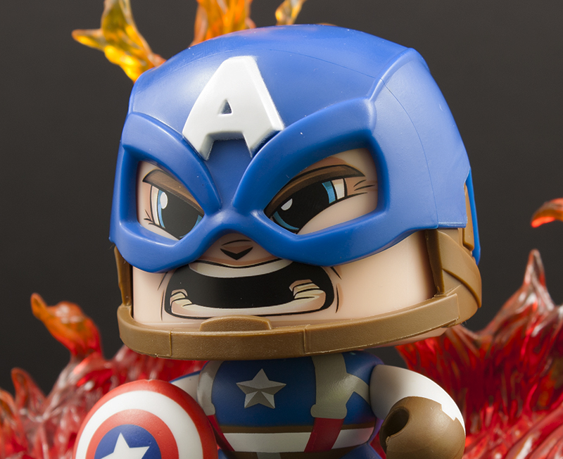 First Look: New Marvel Mighty Muggs – 01 Captain America