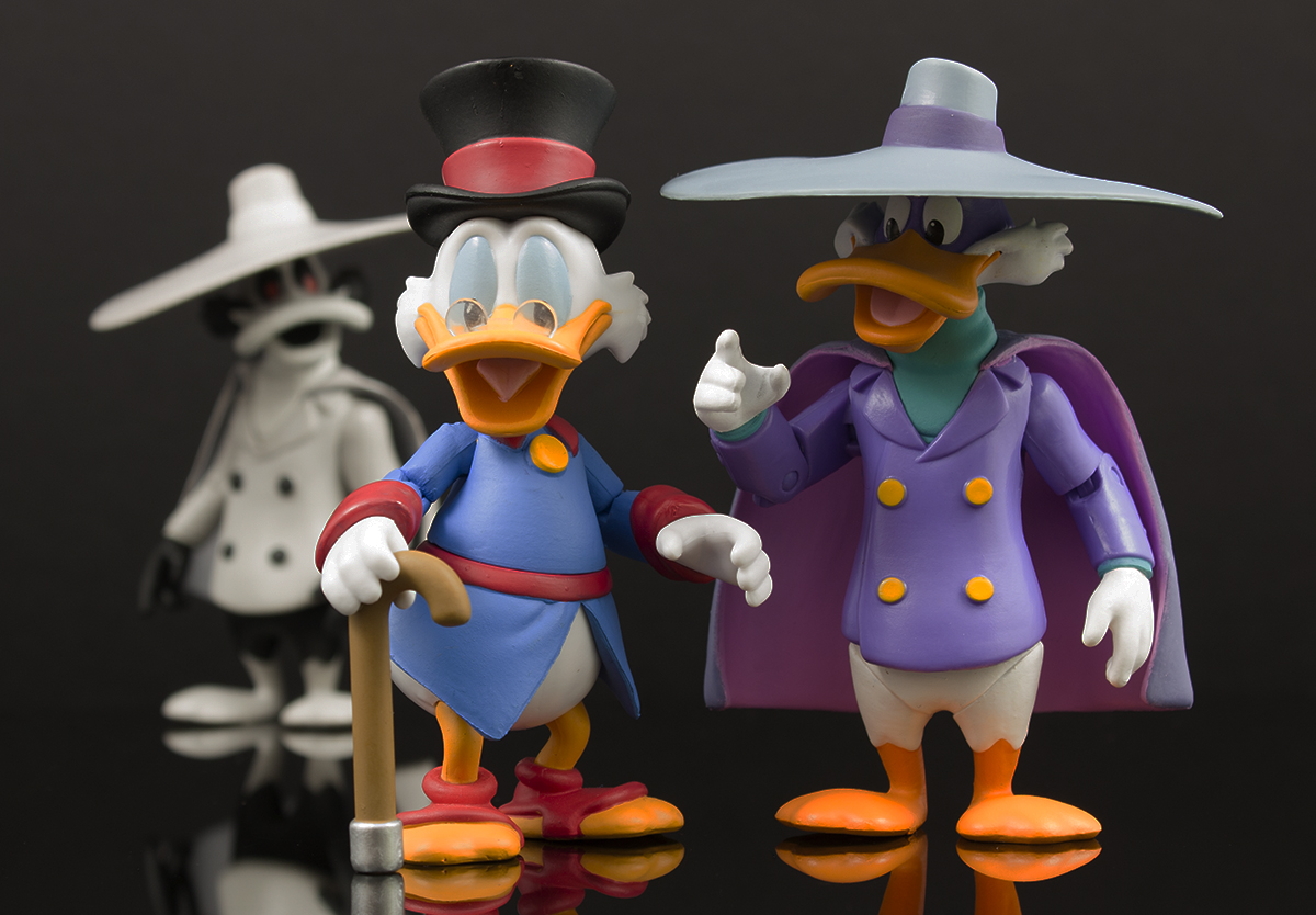 First Look: Funko Disney Afternoon 3 3/4″ Scrooge McDuck, Darkwing Duck, and Negaduck