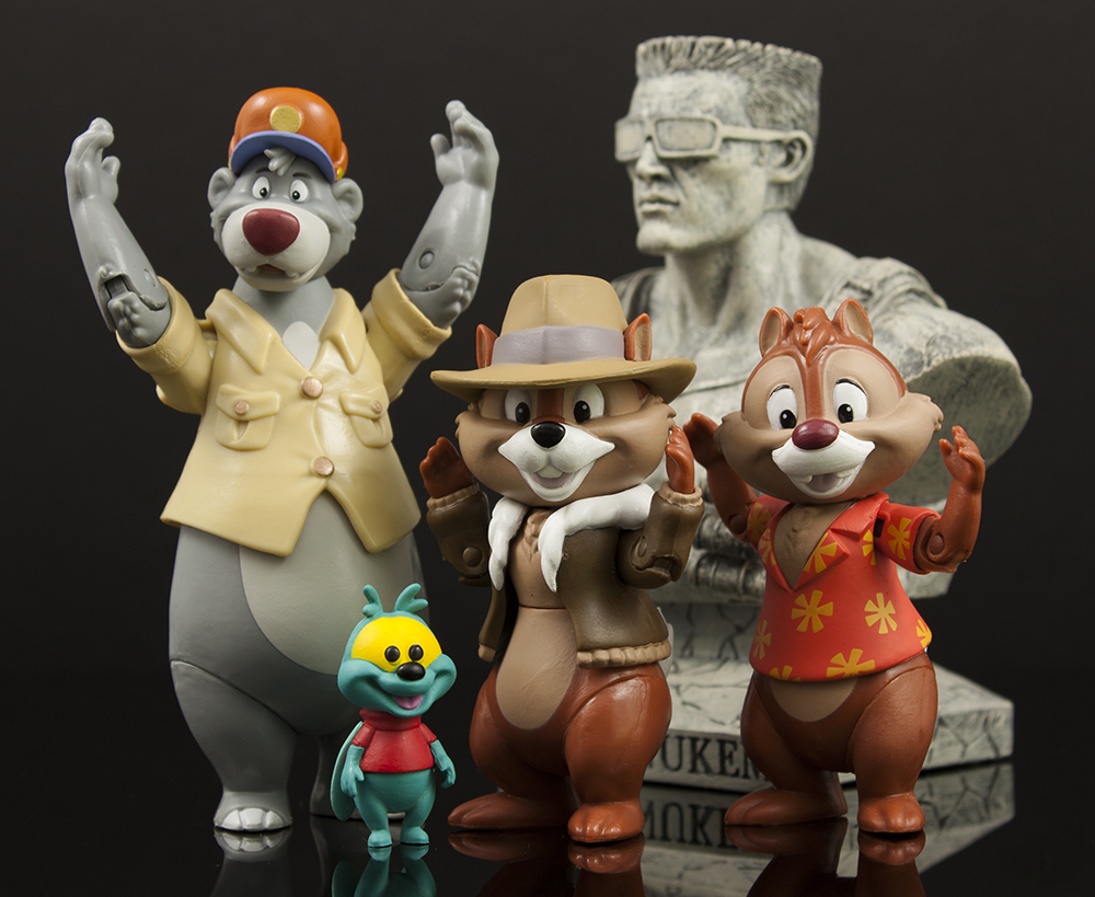First Look: Funko Disney Afternoon 3 3/4″ Baloo, Chip, and Dale