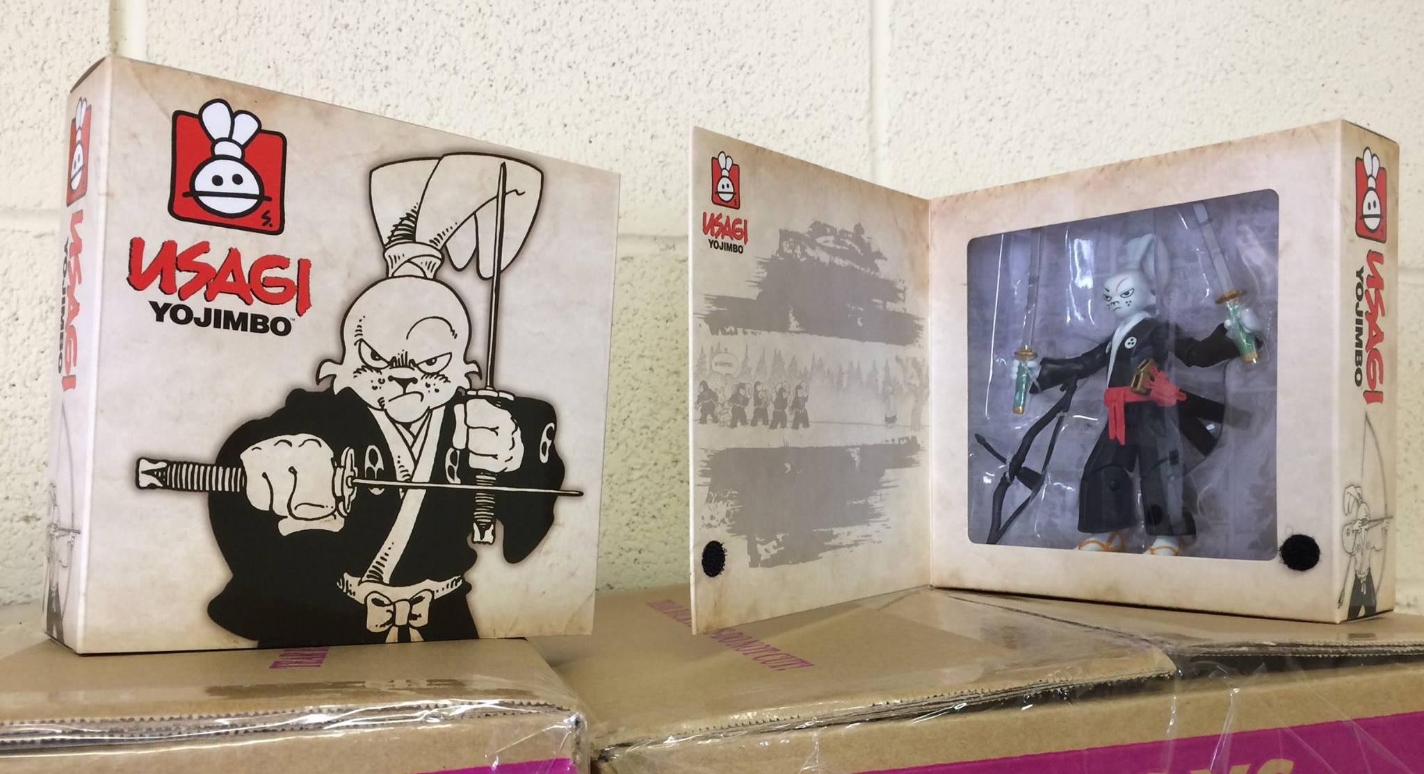 Playmates: Stan Sakai Usagi Yojimbo TMNT Variant
