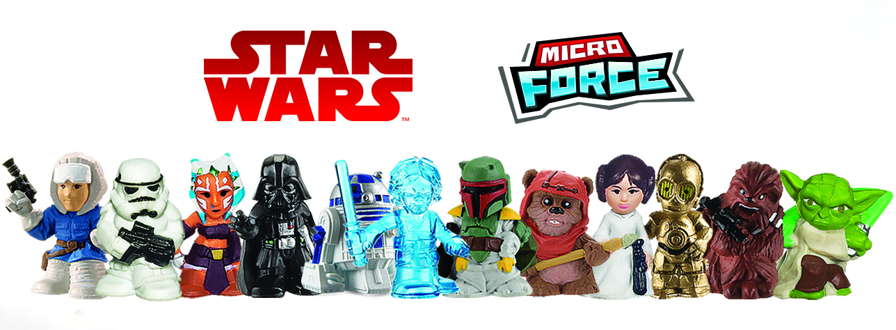 Hasbro: Introducing MICRO FORCE – Hasbro's NEW Star Wars Collectibles!