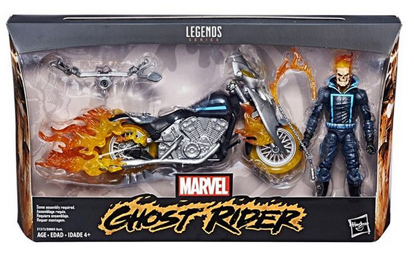 Hasbro: Marvel Legends Ghost Rider Set Carded Reveal