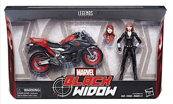 Hasbro: Marvel Legends Black Widow Rider Set Carded Reveal