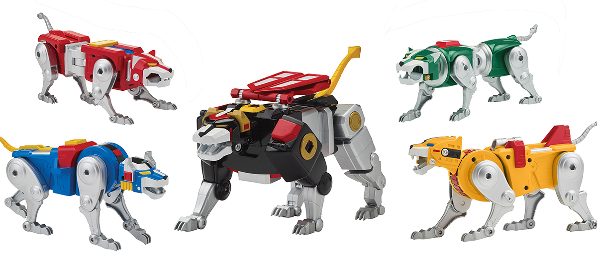 Playmates: New Voltron Classic 1984 Legendary Lion Collection