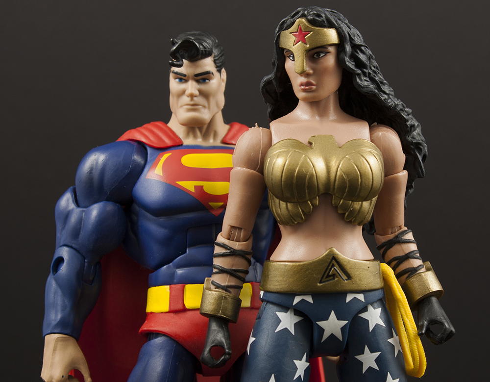Mattel DC Multiverse Dr. Psycho, Teen Titans Wonder Girl, and DKR Wonder Woman Review