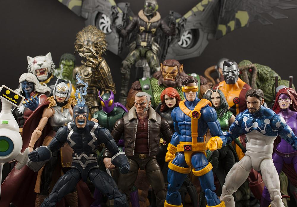 Top 10 Hasbro Marvel Legends of 2017
