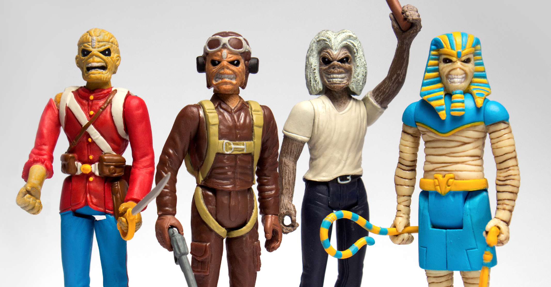 Super7: New Iron Maiden and Alfred Hitchcock ReAction Out Next Week