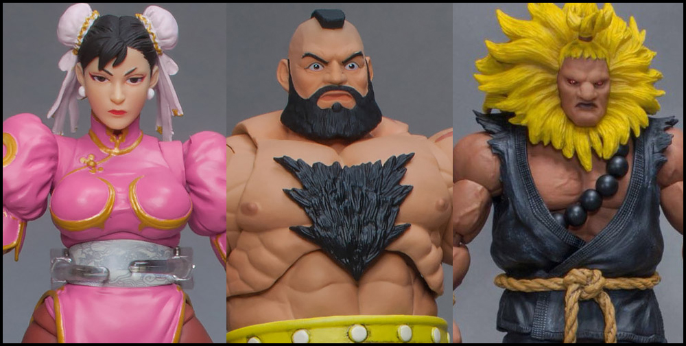 Storm Collectibles: Street Fighter V Chun-Li, Zangief, and Akuma Variants Announced