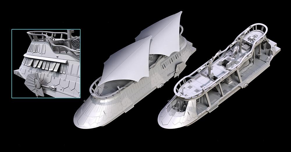 Hasbro: Make Jabba's Sail Barge a Reality With HASLAB
