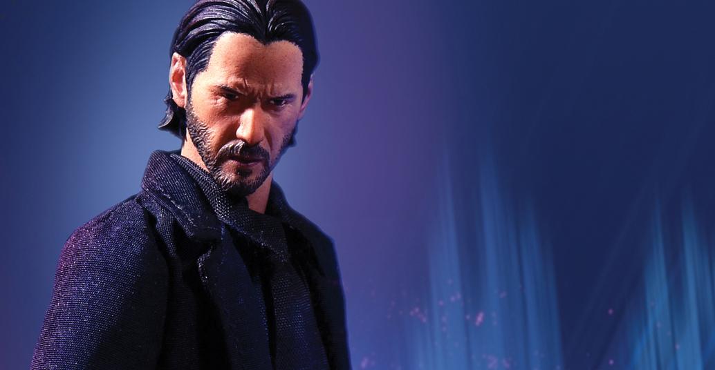 Toy Fair 2018: Mezco One:12 John Wick Revealed