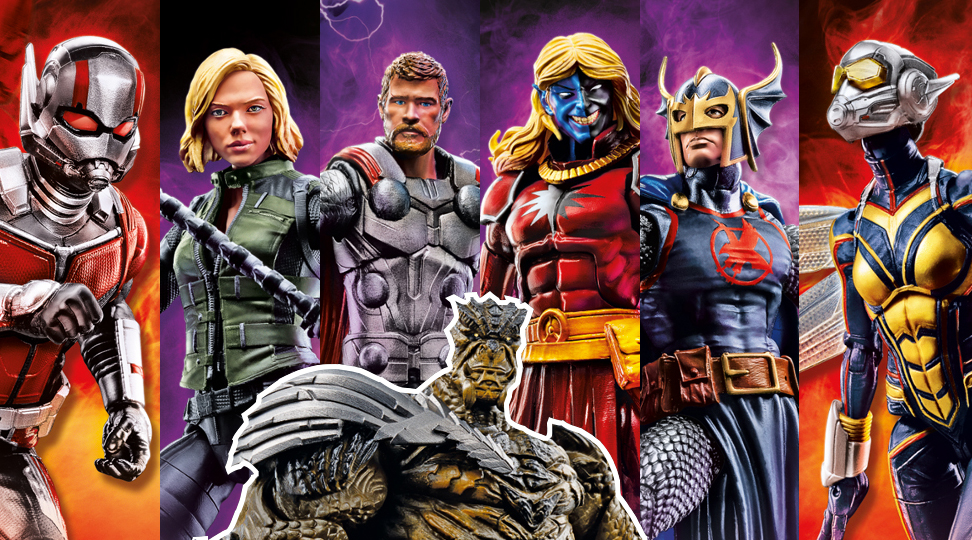Hasbro: Marvel Legends Infinity War Official Pictures