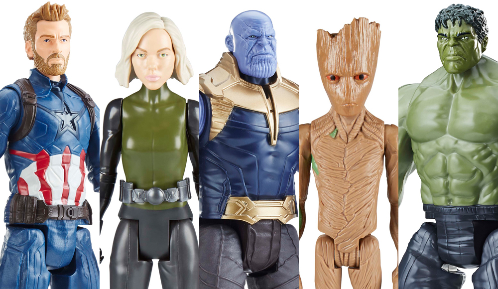 Hasbro: Marvel Avengers Infinity War Toys and Role Play
