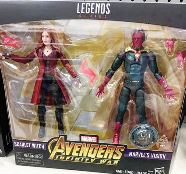 Hasbro: Marvel Legends MCU Scarlet Witch and MCU Vision Toys R Us Exclusive Revealed
