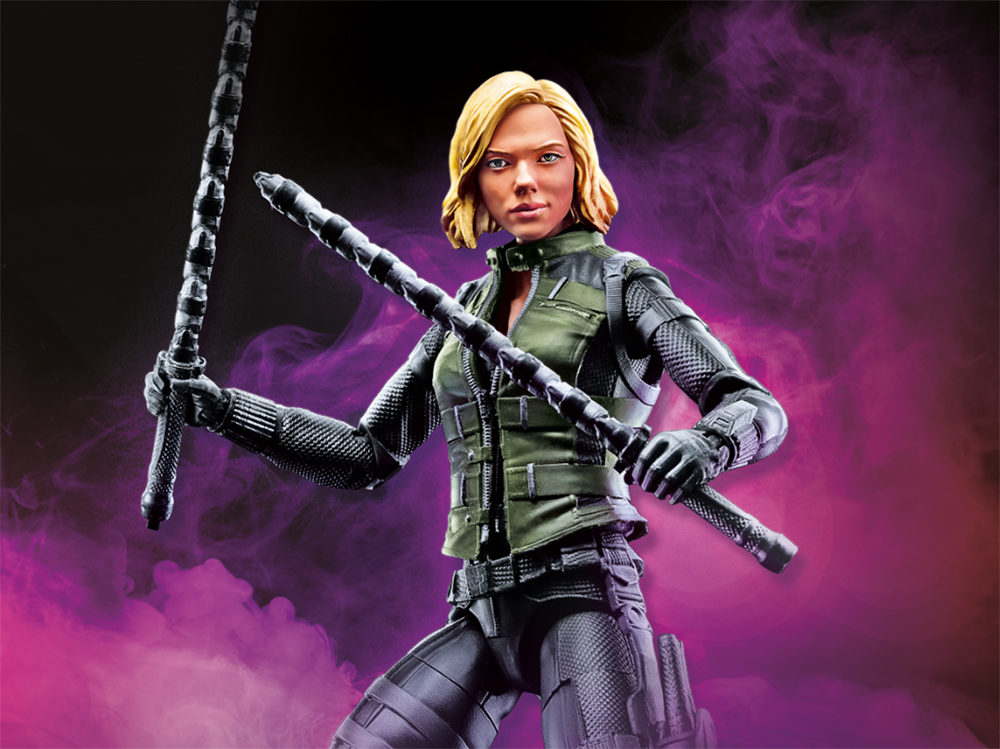 Hasbro: Marvel Legends Infinity War Cull Obsidian, Thor, and Black Widow Revealed