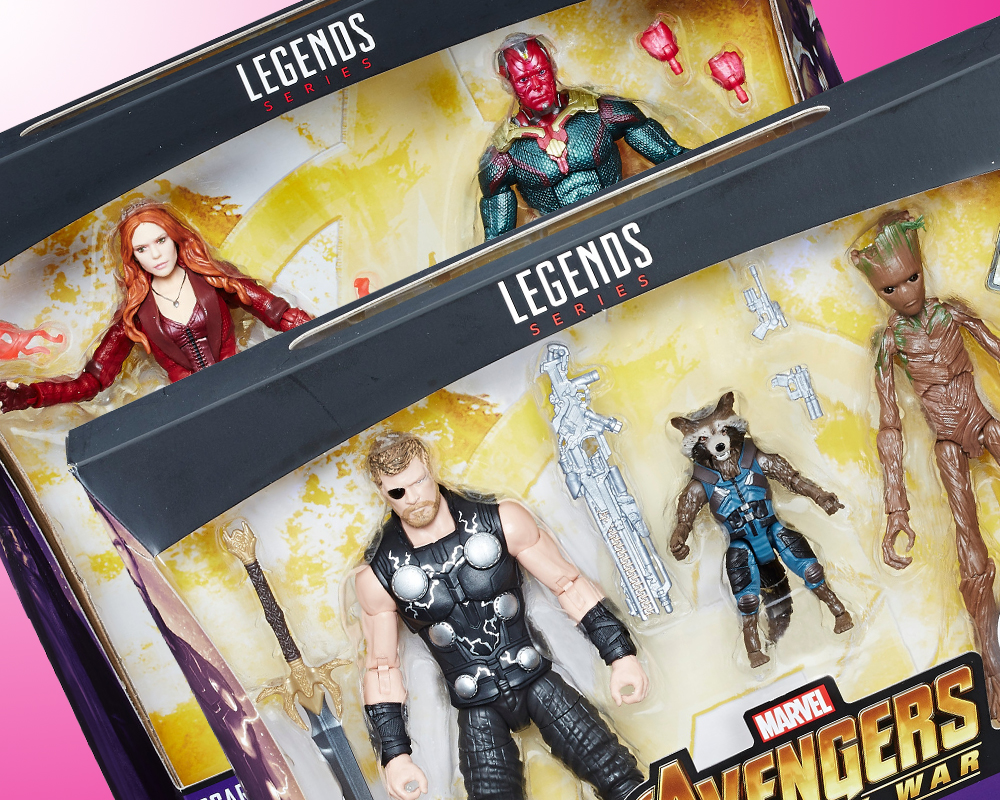 Hasbro: Marvel Legends Infinity War Box Sets Revealed