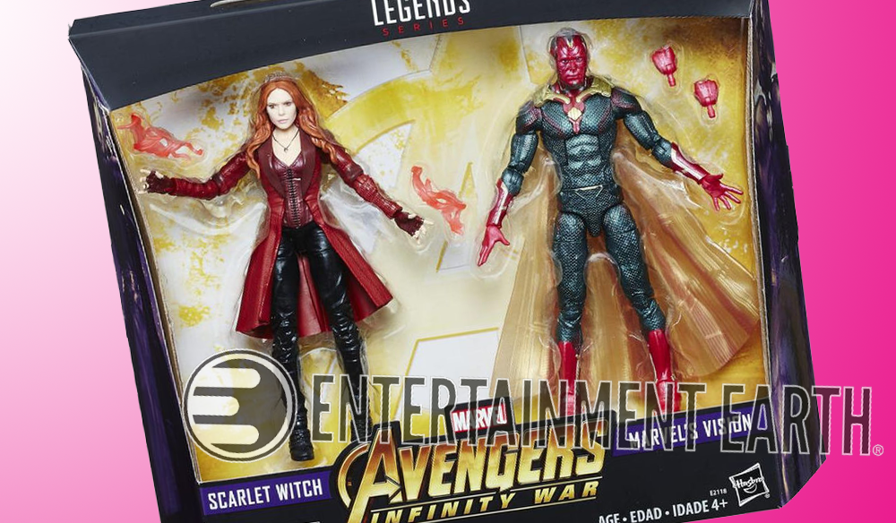 Hasbro: Marvel Legends Scarlet Witch and Vision Two-Pack Now A Shared Exclusive
