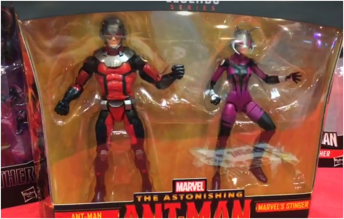 Hasbro: Marvel Legends Ant-Man and Stinger Two-Pack Shown at Mexico Comic Con
