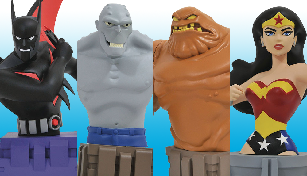DST: DC Animation Busts In to Your Local Comic Shop!